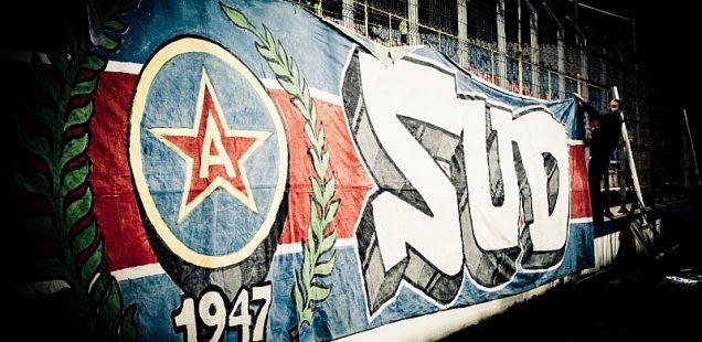 peluza sud Steaua ultra