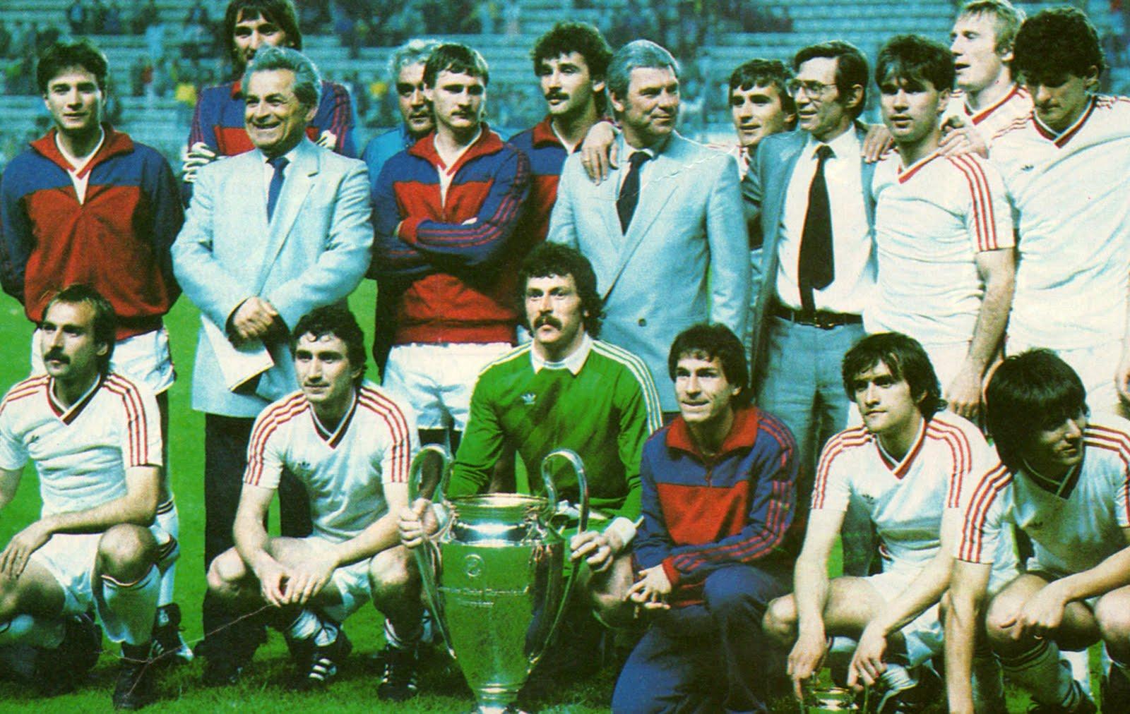 Steaua, Sevilla, Cupa Campionilor Europeni, 1986
