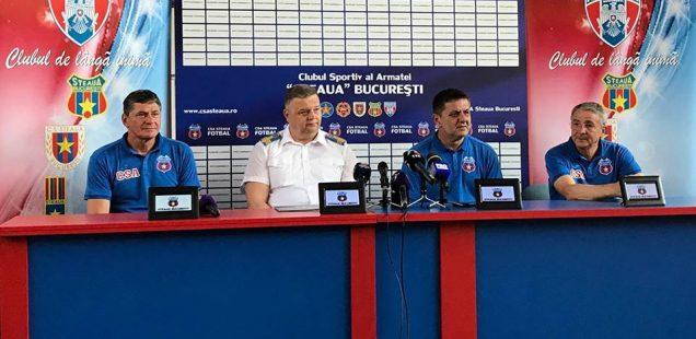 conferinta de presa Steaua