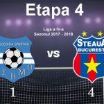AS Tremo Bucuresti Steaua Bucuresti 1-4
