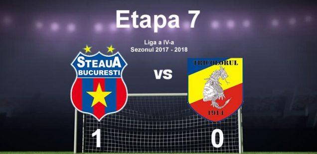 Steaua Bucuresti A.S. Tricolor Bucuresti 1-0