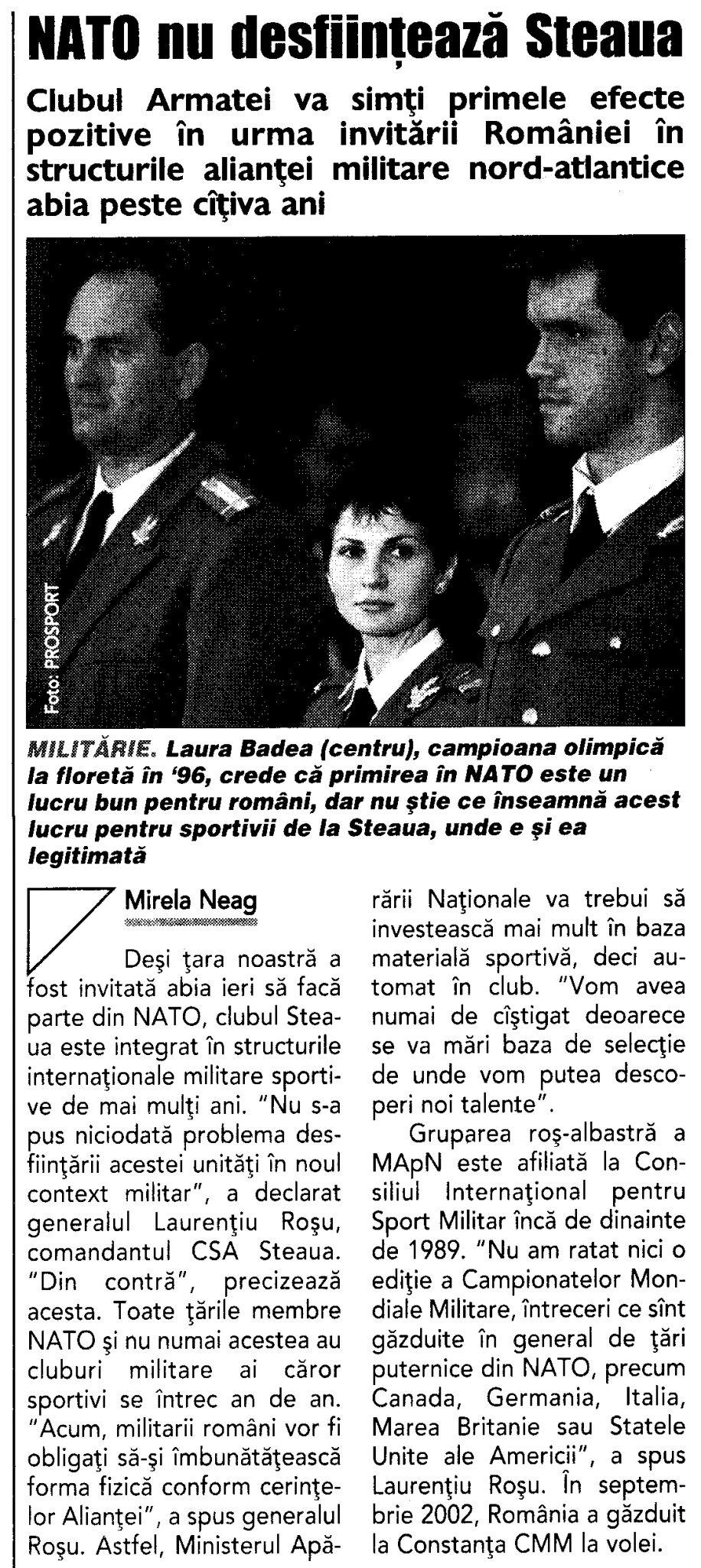 NATO Steaua Bucuresti