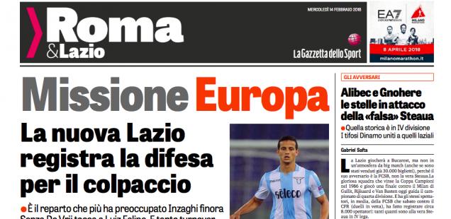 """La Gazzetta dello Sport a scris astazi despre """"falsa Steaua"""""""