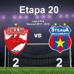 Dinamo Bucuresti - Steaua Bucuresti 2-2 (1-2)