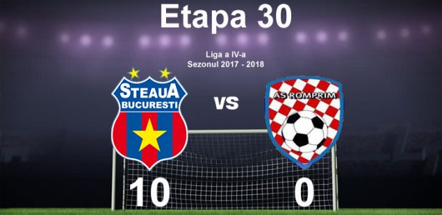 steaua as romprim 10-0