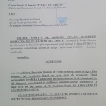steaua bucuresti notificare comitetul executiv al frf