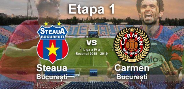Steaua Bucuresti - Carmen Bucuresti