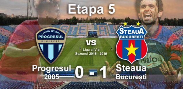 progresul 2005 steaua bucuresti 0-1