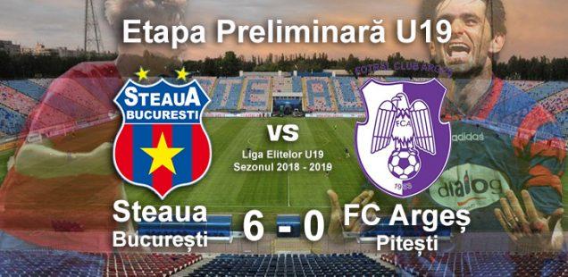 Steaua U19 FC Arges U19 Liga Elitelor