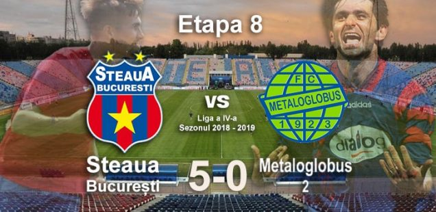 Steaua Bucuresti Metaloglobus 2 5-0
