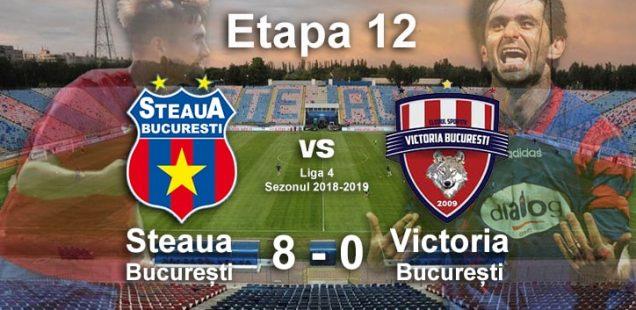 steaua bucuresti victoria bucuresti 8-0