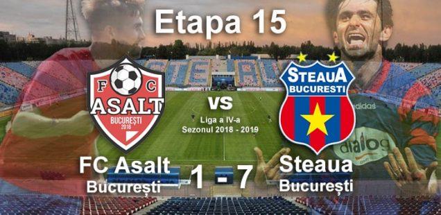 fc asalt Steaua București 1-7