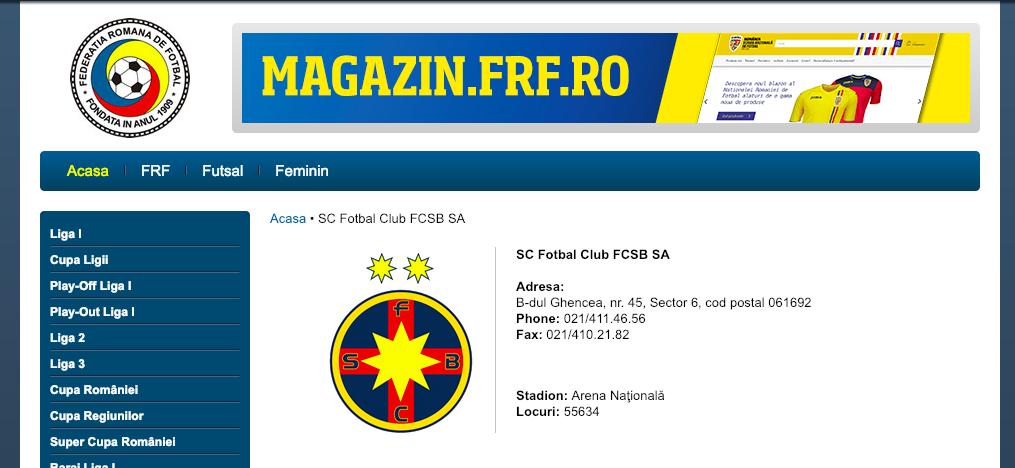 fc fcsb frf