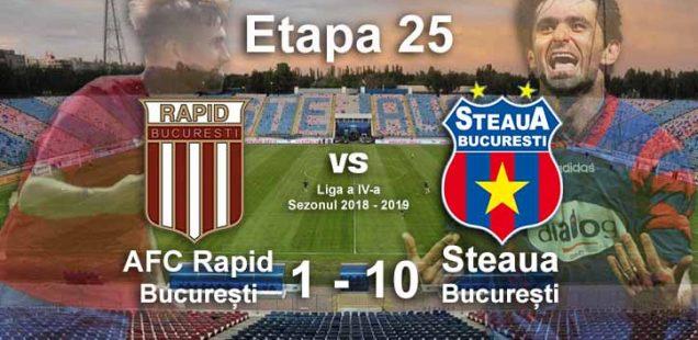 afc rapid - Steaua București 1-10