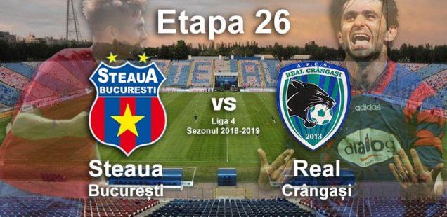 Steaua București - Real Crângași