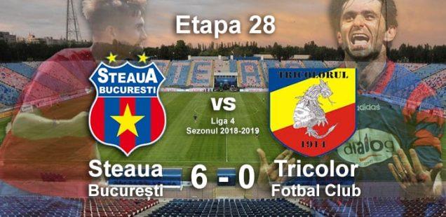 Steaua București Tricolor Fotbal Club 5-0