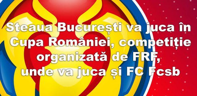 Steaua București și FC Fcsb vor juca în aceeași competiție
