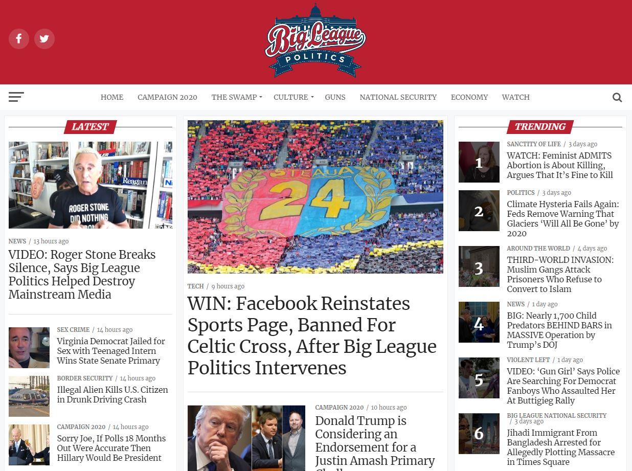 Big League Politics