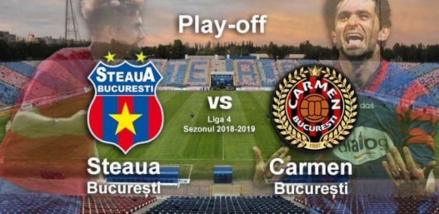 Steaua București - Carmen București