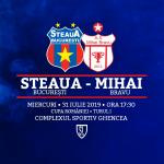 Avancronică de Cupă: Steaua București - Mihai Bravu