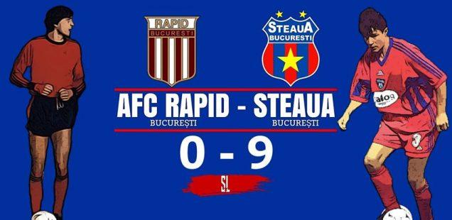 afc rapid steaua București 0-9