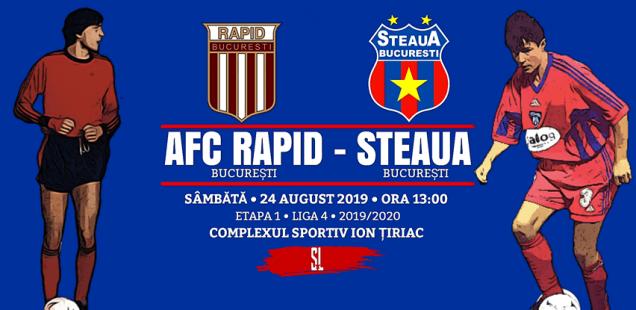 AFC Rapid - Steaua București