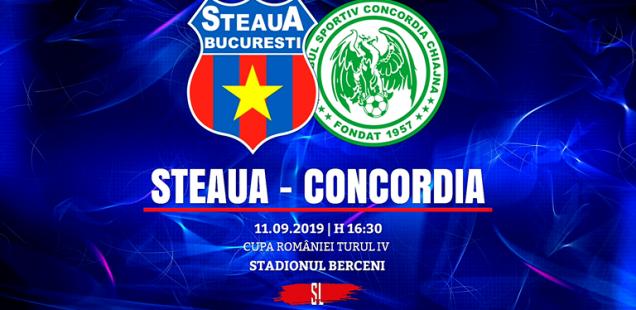 Steaua București - Concordia Chiajna