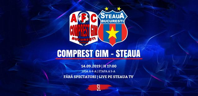 Comprest GIM - Steaua București