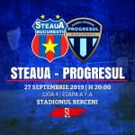 Avancronică: Steaua București - Progresul 2005