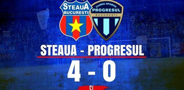 Steaua București - Progresul 2005 4-0