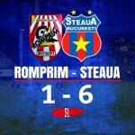 AS Romprim - Steaua, 1-6