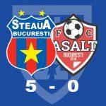 Steaua AFC Asalt 5-0