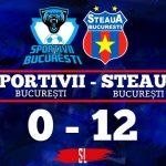 Sportivii București - Steaua bucurești