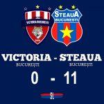 victoria bucurești - steaua bucurești 0-11