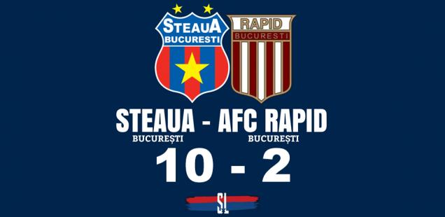 Steaua afc rapid 10 2