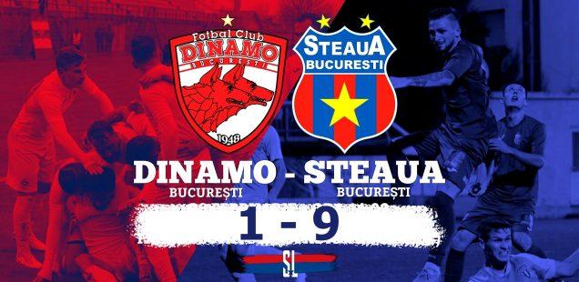 Dinamo - Steaua 1-9
