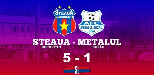 Steaua București - Metalul buzău
