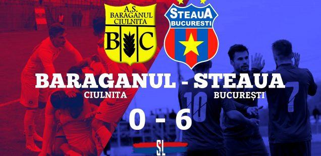 Bărăganul Ciulnița - Steaua București, 0-6(0-5) - Steaua a promovat în Liga 3!