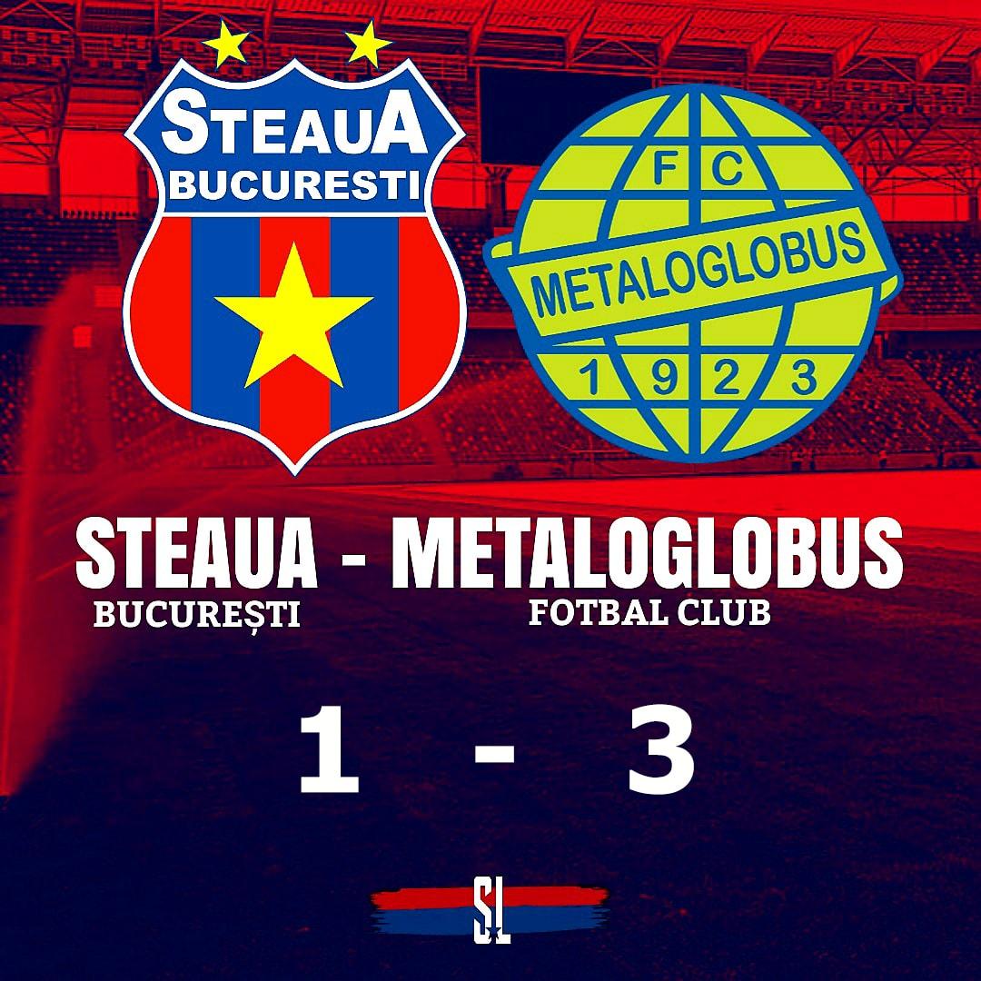 steaua metaloglobus 1-3