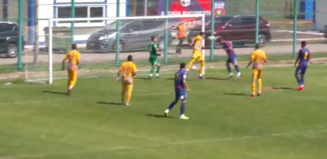 Steaua București CS Afumați 2-0 amical