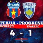 Steaua București Progresul Spartac