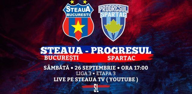 Steaua București - Progresul Spartac