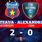 Steaua București - CSM Alexandria 2-0