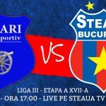 cs tunari - Steaua București