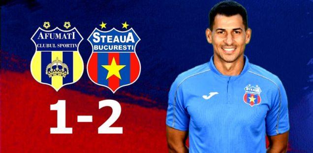 steaua bucurești a promovat în liga 2 cs afumați steaua bucurești 1-2