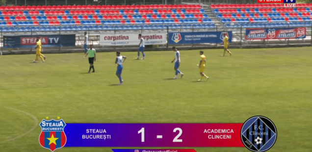 Steaua București - Academica Clinceni amical 1-2