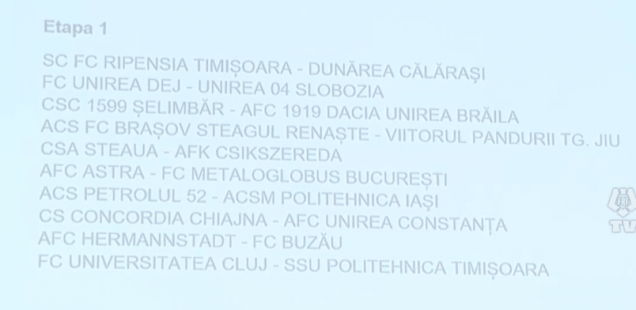 Program Steaua București Liga 2 sezon 2021-2022