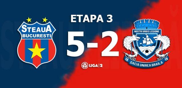 Steaua Brăila 5-2